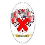 McParland Sticker (Oval 50 pk)