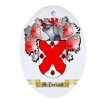 McParland Oval Ornament