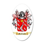 McNnally 35x21 Oval Wall Decal