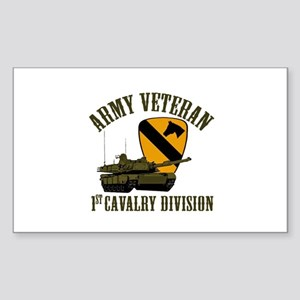 1ST Cavalry Division Veteran Sticker