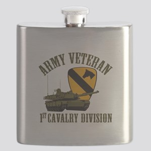 1ST Cavalry Division Veteran Flask