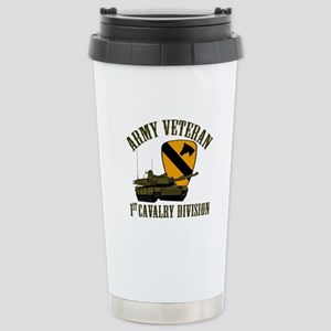 1ST Cavalry Division Ve Stainless Steel Travel Mug
