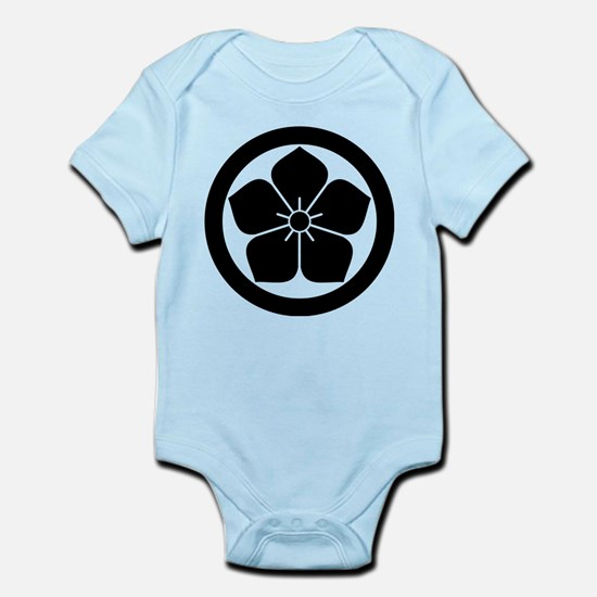 Balloonflower in circle Body Suit