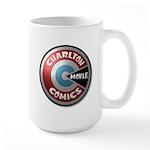 Charlton Movie 3D Logo Mugs