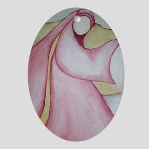 """Mary Magdalene; """"The Wayshower"""" Oval Ornament"""