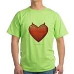 Devil Heart Green T-Shirt