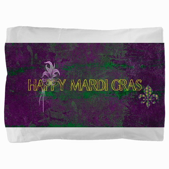 Mardi Gras happy Mardi Gras Pillow Sham