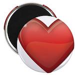 Devil Heart Magnet