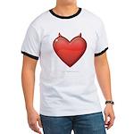 Devil Heart Ringer T