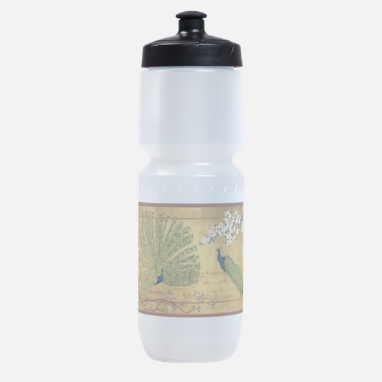 Peacock Paradise Sports Bottle