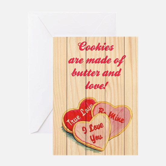 BUTTER AND LOVE Greeting Card