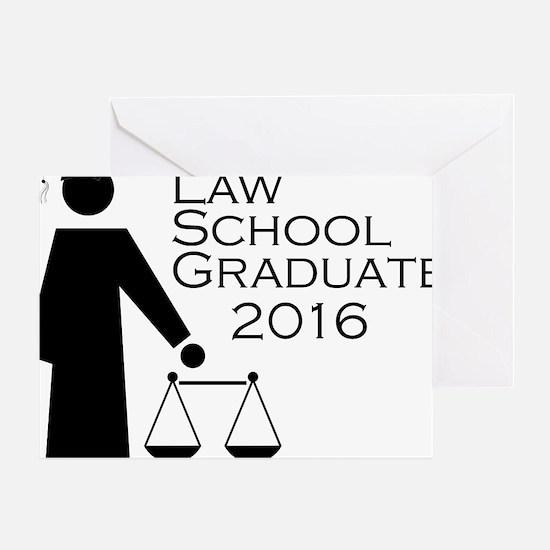 Funny Law school graduate Greeting Card