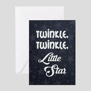 TWINKLE, TWINKLE... Greeting Cards