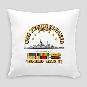 USS Pennsylvania (BB-38) Everyday Pillow