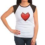 Devil Heart Junior's Cap Sleeve T-Shirt