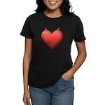 Devil Heart Women's Dark T-Shirt