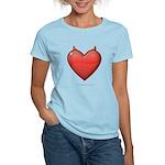 Devil Heart Women's Light T-Shirt