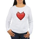 Devil Heart Women's Long Sleeve T-Shirt