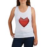 Devil Heart Women's Tank Top