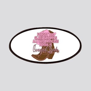 Cowgirl princess Patch