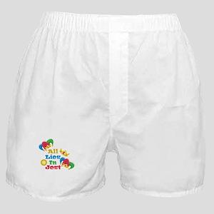 Lies In Jest Boxer Shorts