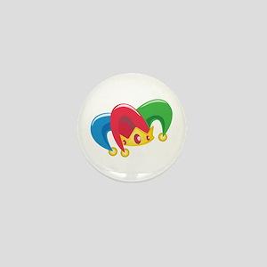 Jester Hat Mini Button