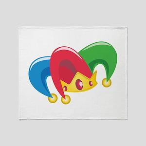 Jester Hat Throw Blanket
