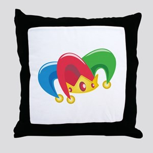 Jester Hat Throw Pillow