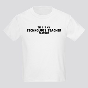 Technology Teacher costume Kids Light T-Shirt