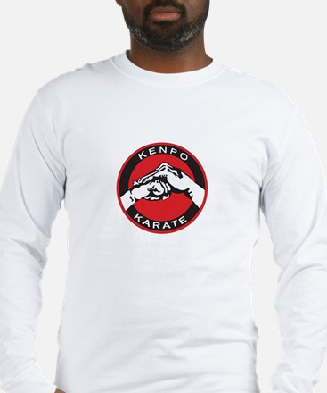 Kenpo Karate Hands Long Sleeve T-Shirt