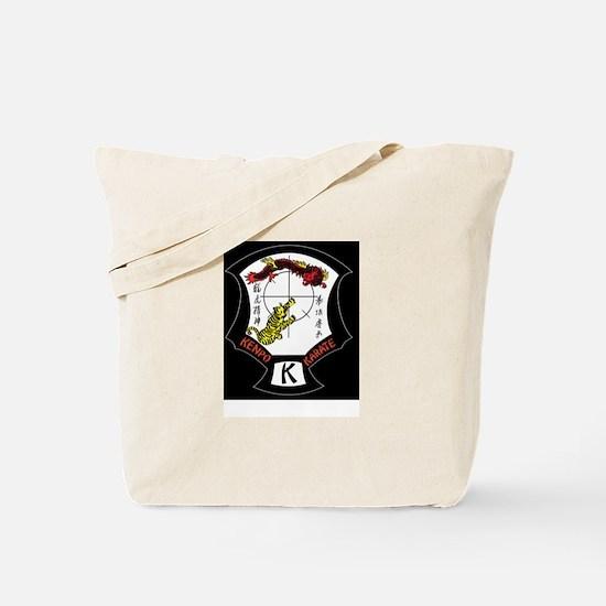 Kenpo Karate Crest Tote Bag