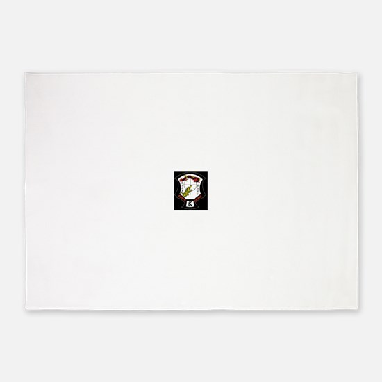 Kenpo Karate Crest 5'x7'Area Rug