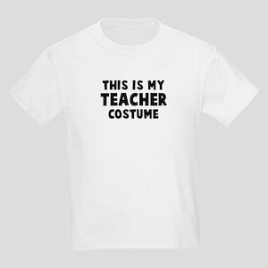 Teacher costume Kids Light T-Shirt