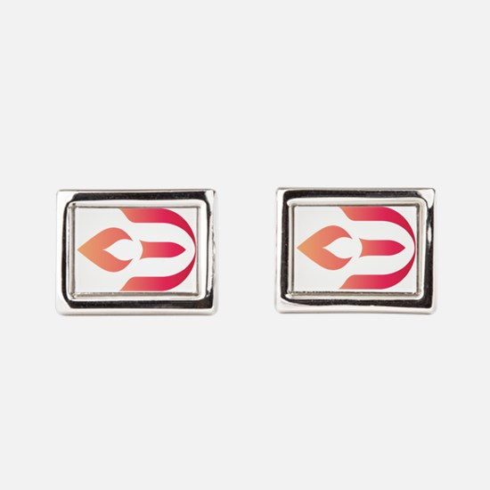 Unique Unitarian universalist chalice Rectangular Cufflinks