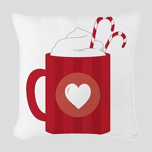 Hot Chocolate Woven Throw Pillow
