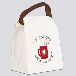 Warms The Heart Canvas Lunch Bag