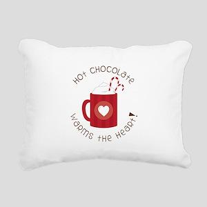 Warms The Heart Rectangular Canvas Pillow
