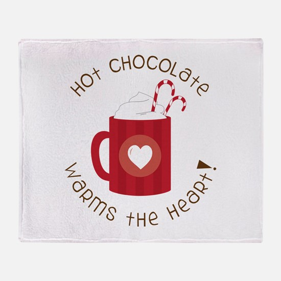 Warms The Heart Throw Blanket