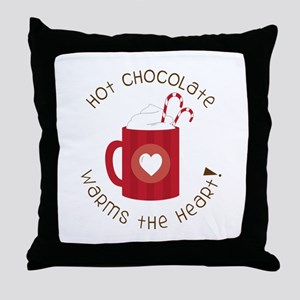 Warms The Heart Throw Pillow