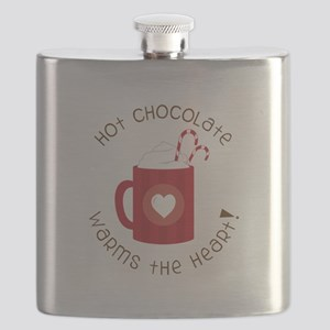 Warms The Heart Flask