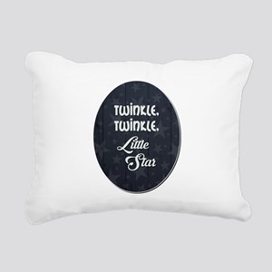 TWINKLE, TWINKLE... Rectangular Canvas Pillow