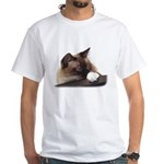 White T-Shirt (with your photo/logo)