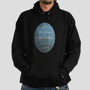 SHE BELIEVED Hoodie (dark)