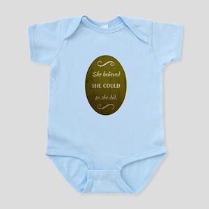 SHE BELIEVED Infant Bodysuit