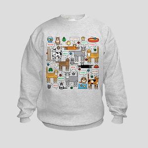 What Cats Say Sweatshirt