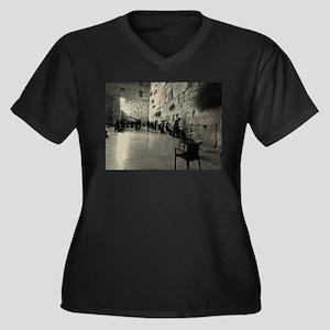 Western Wall Plus Size T-Shirt