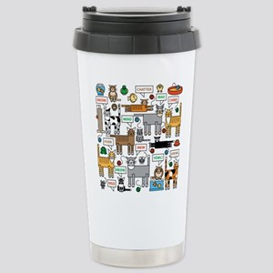 What Cats Say Travel Mug