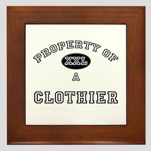 Property of a Clothier Framed Tile