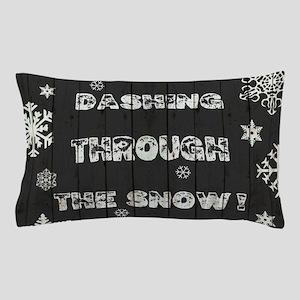 DASHING THROUGH... Pillow Case