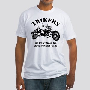 Don't Need No Stinkin' Kick Stand Fitted T-Shirt